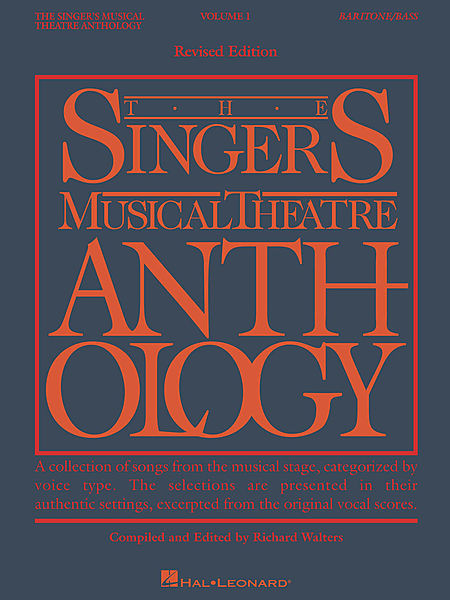 Breaking Down The Singers Musical Theatre Anthology Baritone Bass Volumes Resources